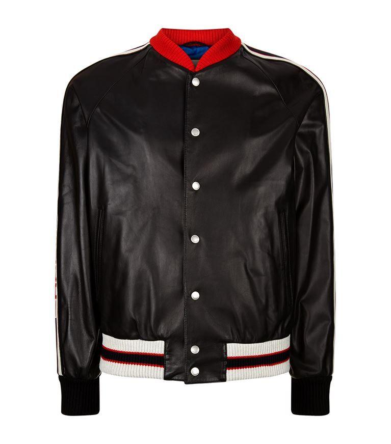 d226efc9d GUCCI Hollywood Leather Bomber Jacket. #gucci #cloth # | Gucci Men ...