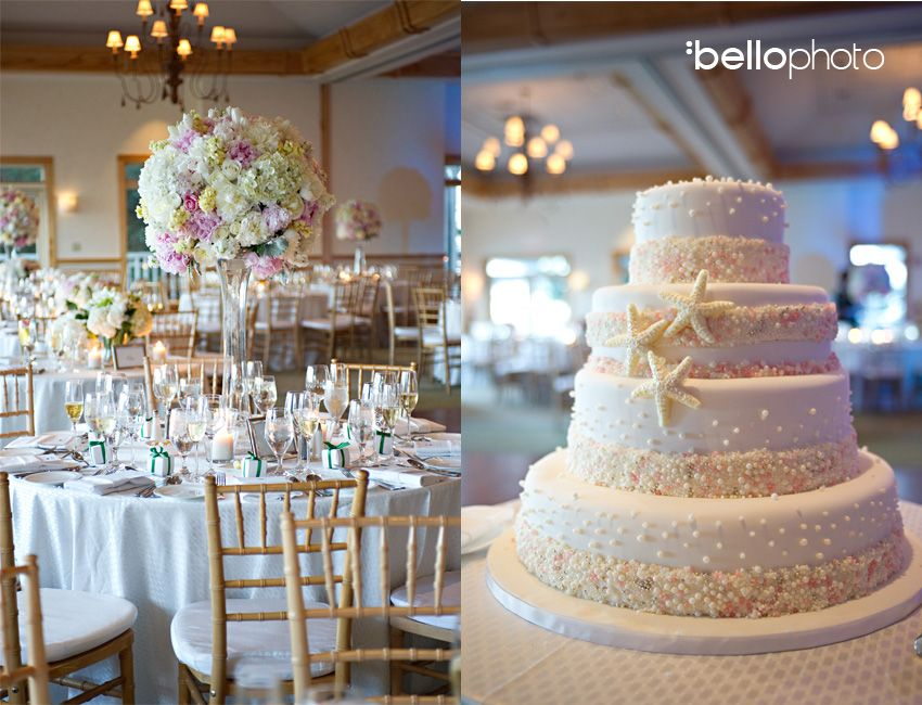 Cape Cod Wedding Wequett Resort Flowers Cake