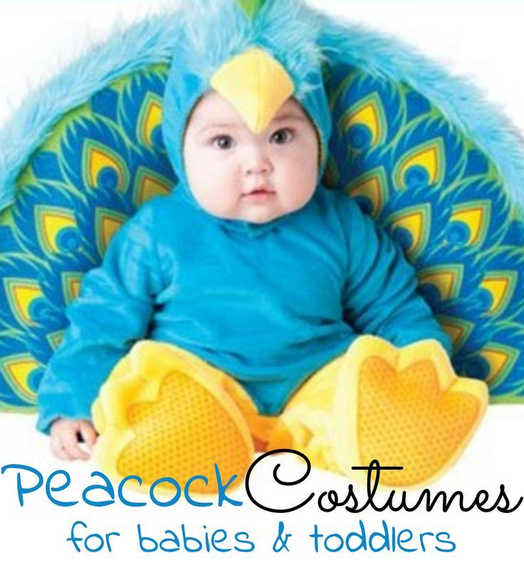 Baby/Toddler Peacock Costumes Halloween costumes, Peacocks and - cute childrens halloween costume ideas