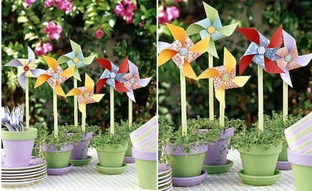 decora tu jardn con estos hermosos molinillos de viento fciles de hacer