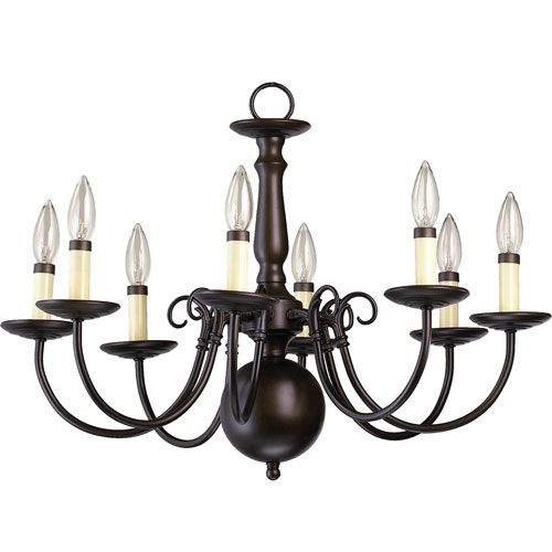 Williamsburg eight light oiled bronze with antique gold chandelier chandelier lighting on sale bellacor aloadofball Image collections
