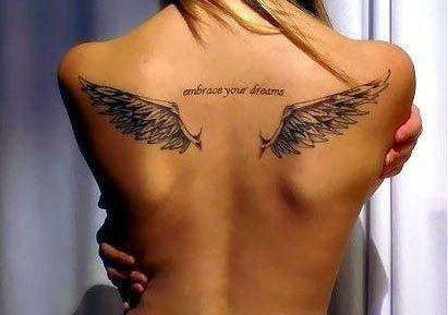 35 Best Back Tattoo Designs Images For Girls Tattoos Wing