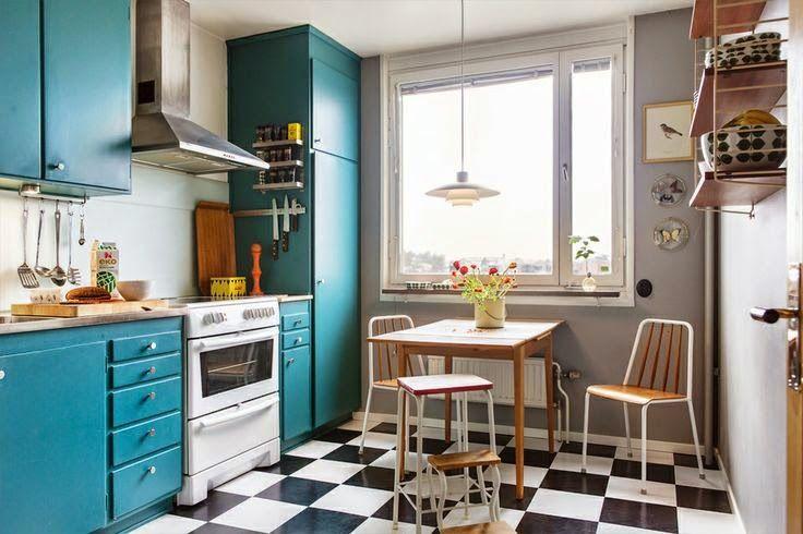 La Fabrique à Déco: Rétro : une cuisine tellement Sixties!   Cuisine ...