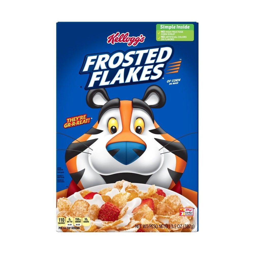 Frosted Flakes Breakfast Cereal