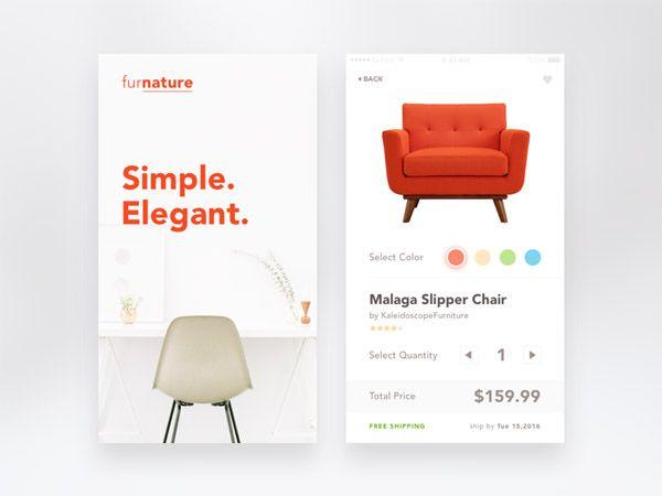 50 great examples of minimalist mobile app ui designs smashfreakz rh pinterest com