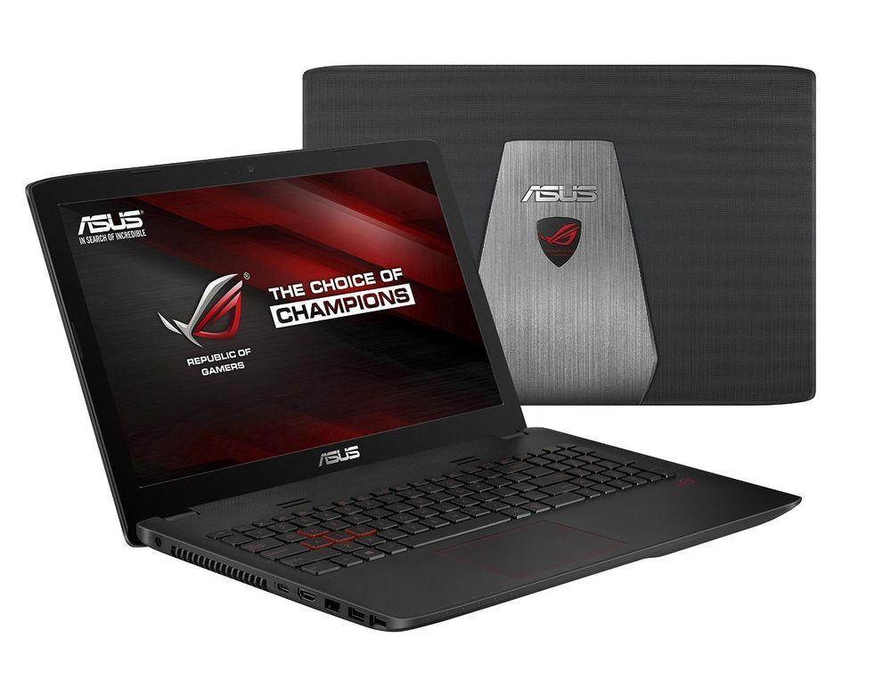 Asus Rog G552 Gamer Laptop 15 Intel I7 8gb 1tb 256gb Sshd Nvidia Graphics Asus Asus Notebook Laptop