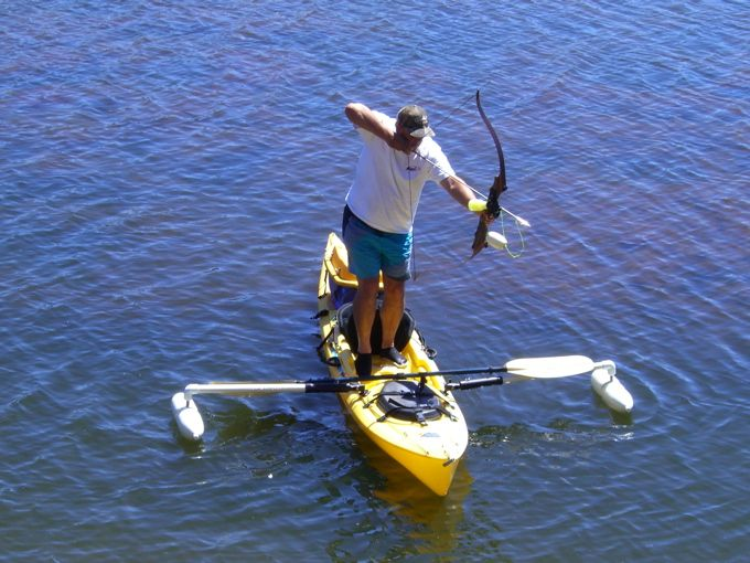 Bowfishing things to know about before getting into the for Beginner fishing kayak