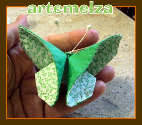 ARTEMELZA - Arte e Artesanato: Orinuno-borboleta