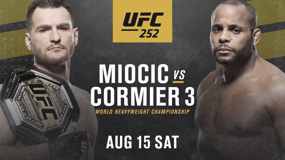 Miocic Vs Cormier 3 Live Stream In 2020 Ufc Daniel Cormier World Heavyweight Championship