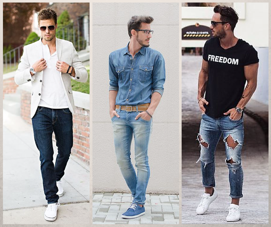 Casual Mens Shoes With Jeans