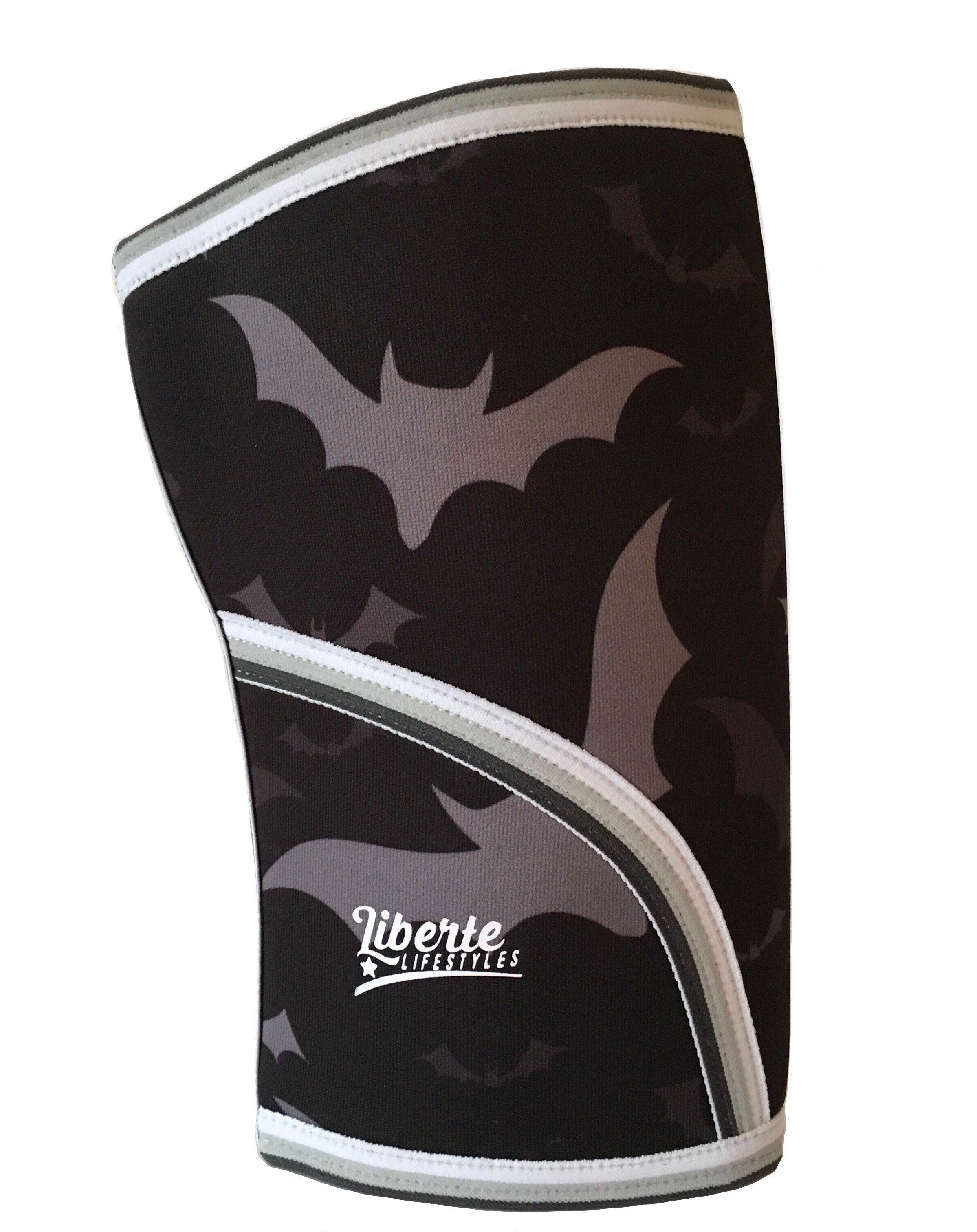 Liberte lifestyles bat print knee sleeves with images