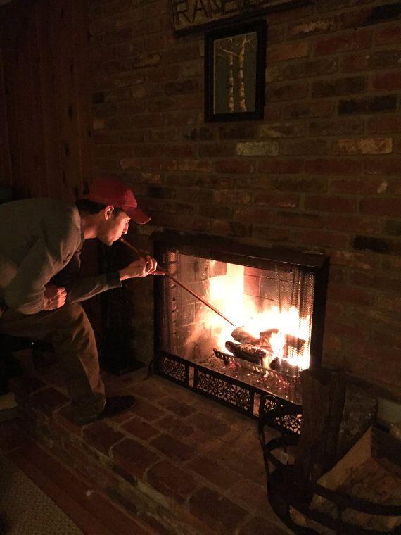 Fireplace Bellows Fire Pit Tool Campfire Blowstick Fireplace