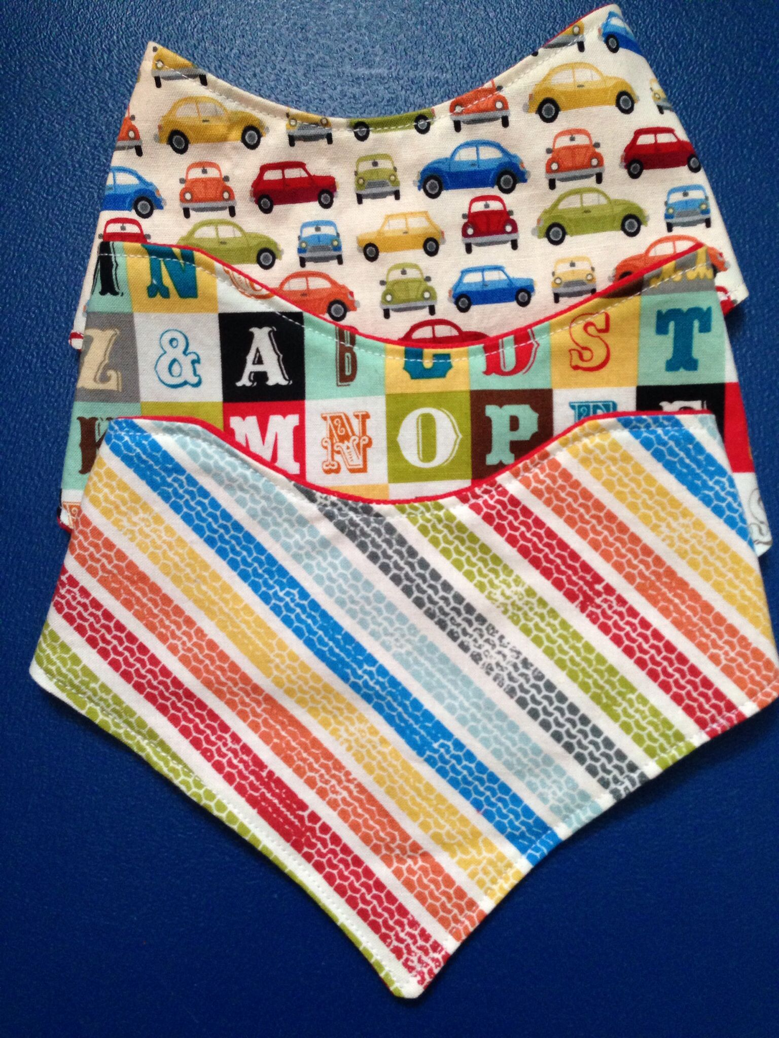 Dribble bibs! Bandana bibs! Custom made with too cute patterns. Www ...