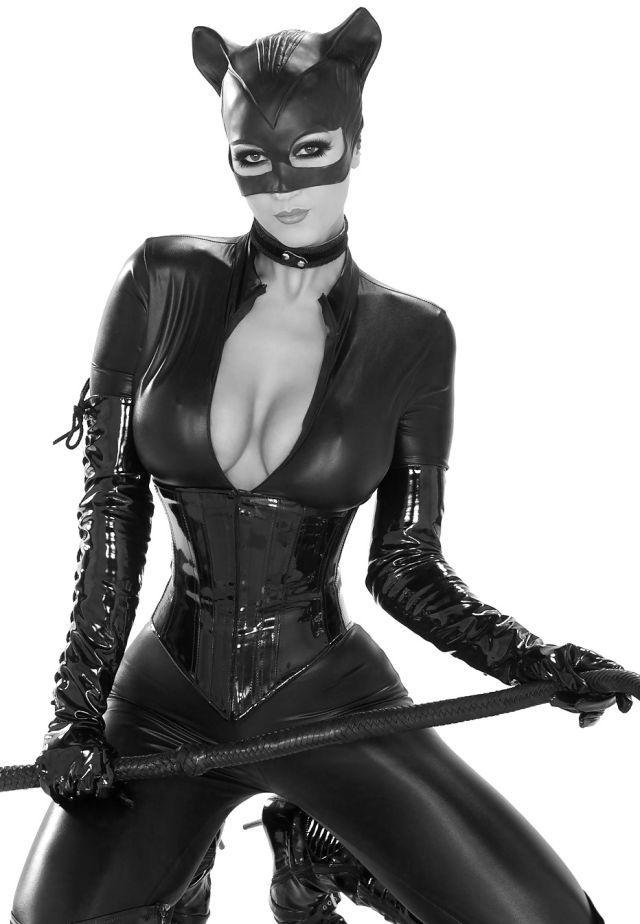 porno film latex catwoman kostüm latex