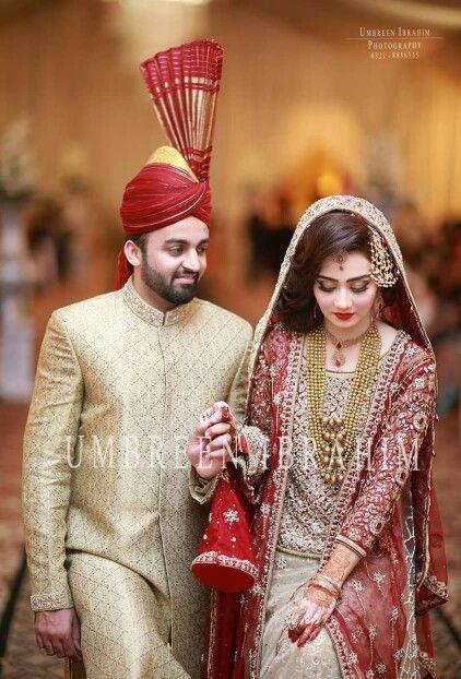 Punjabi Pag Punjabi Bride And Groom Lehnga Bride Bridal Bridal