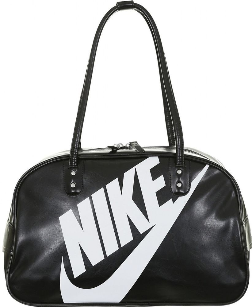 Nike Heritage SI Club Holdall Size 23 Litre Black Shoulder Bag Adult  Nike   MessengerShoulderBag cbd090cd06267