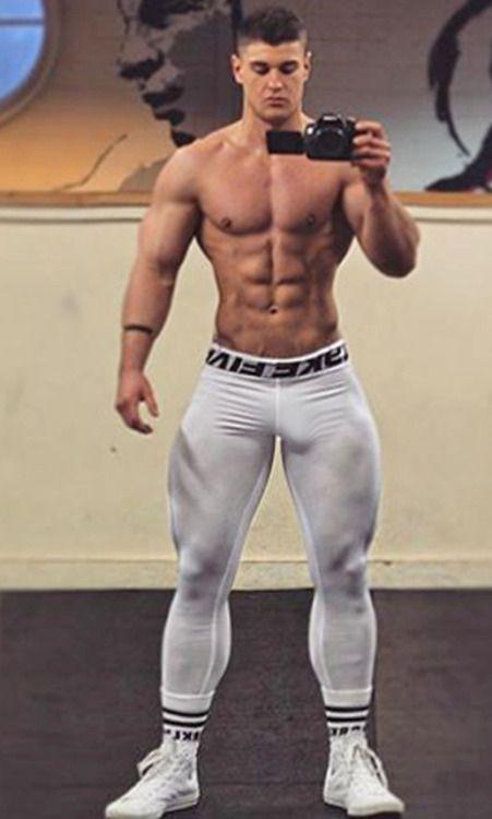Muscular Jock Hunks Pound Smaller Dude
