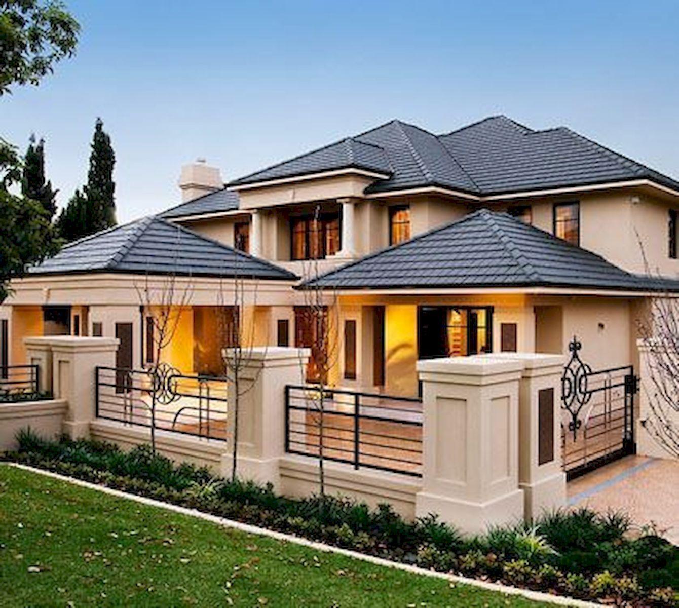 Unique Home Exterior Design: 70 Most Popular Dream House Exterior Design Ideas (27