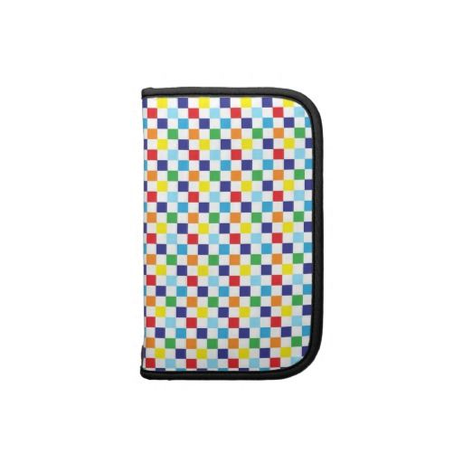 Bright Color pattern folio smartphone case Organizers