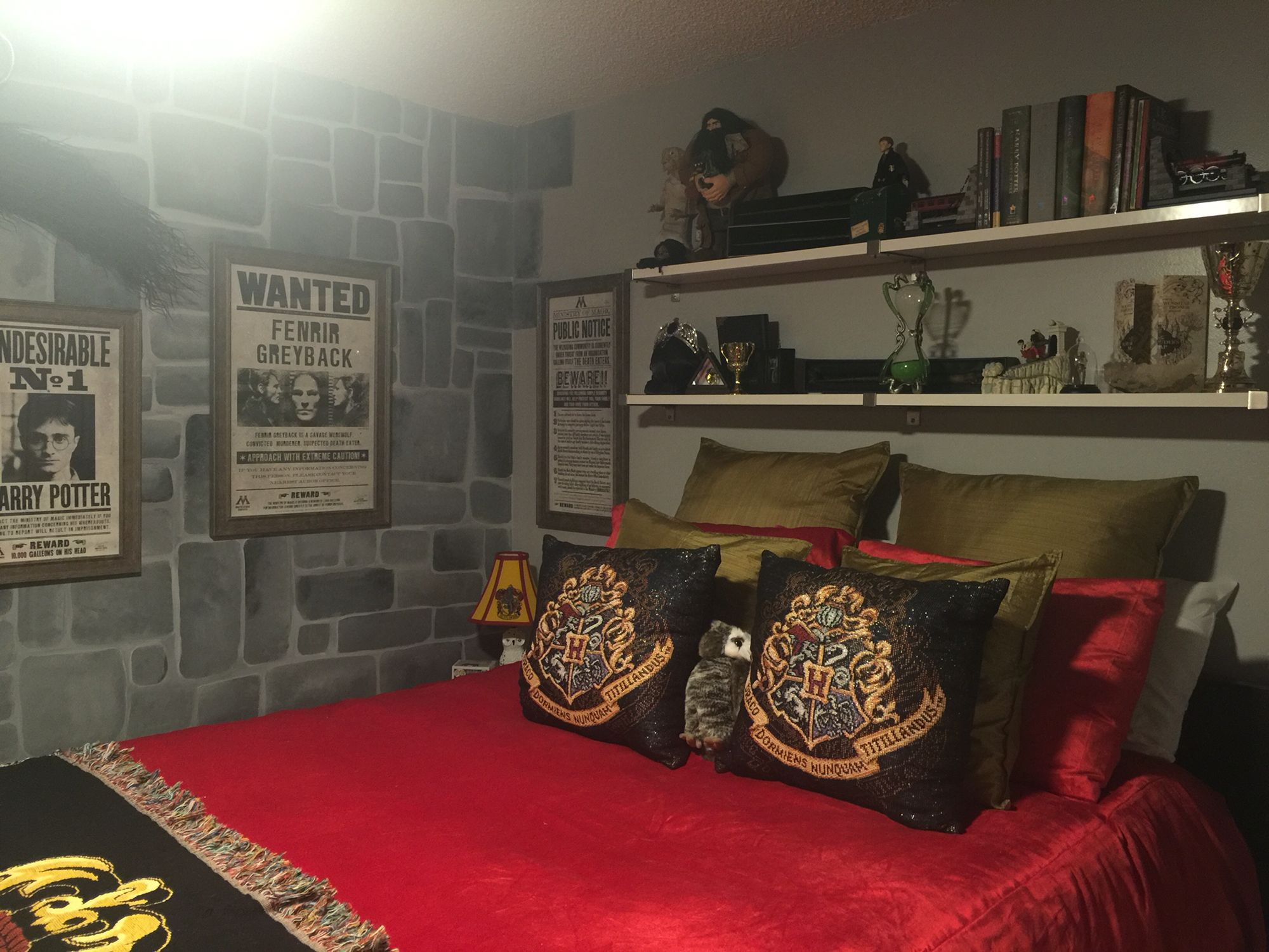 Harry potter room pinteres for Room decor harry potter