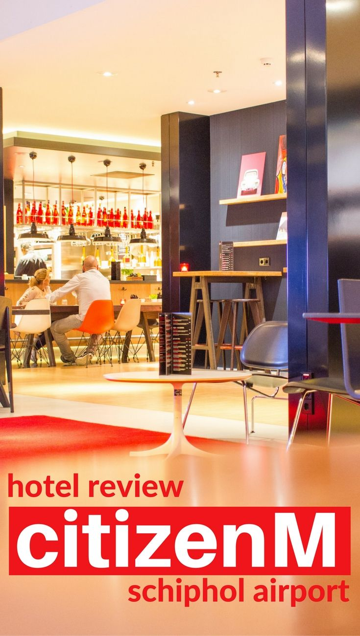 Hotel Review: CitizenM Schiphol Airport