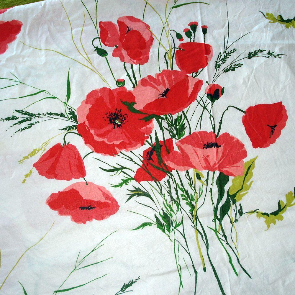 Vintage Home Decor Fabric \