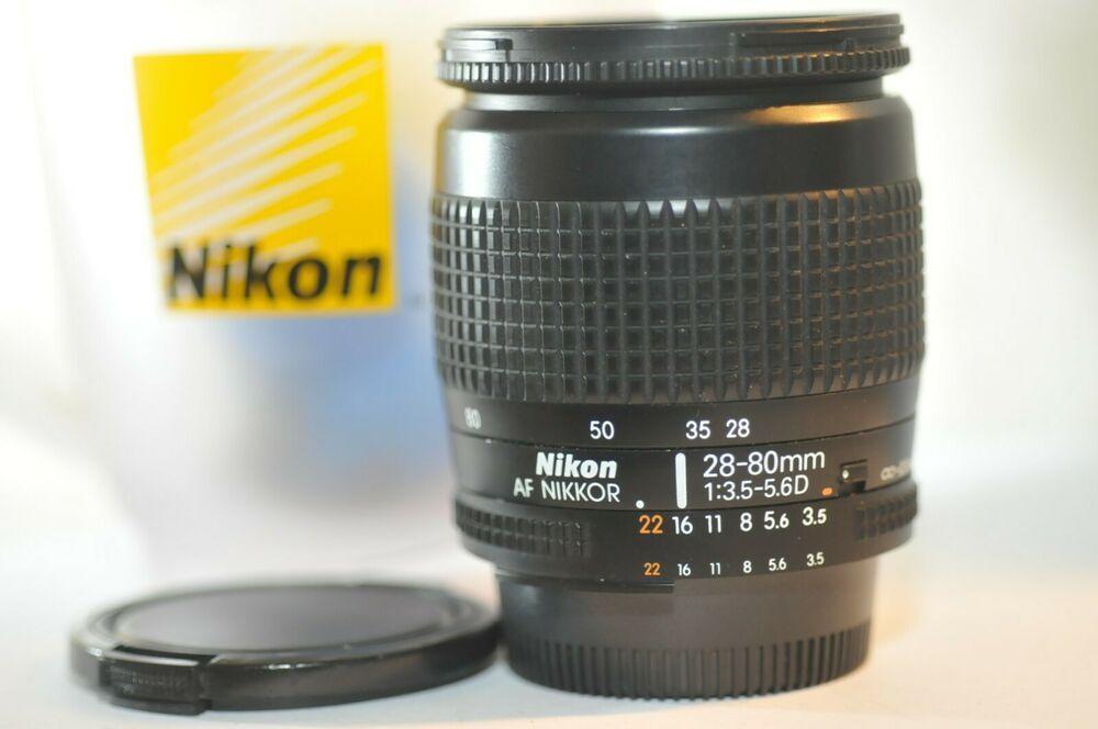 Nikon Af Zoom Nikkor 28 80mm F 3 5 5 6 D Fx Lens For Fm2 N80 F100 Df D610 D750 Nikon Camera Lenses Nikon Zoom Lens Nikon