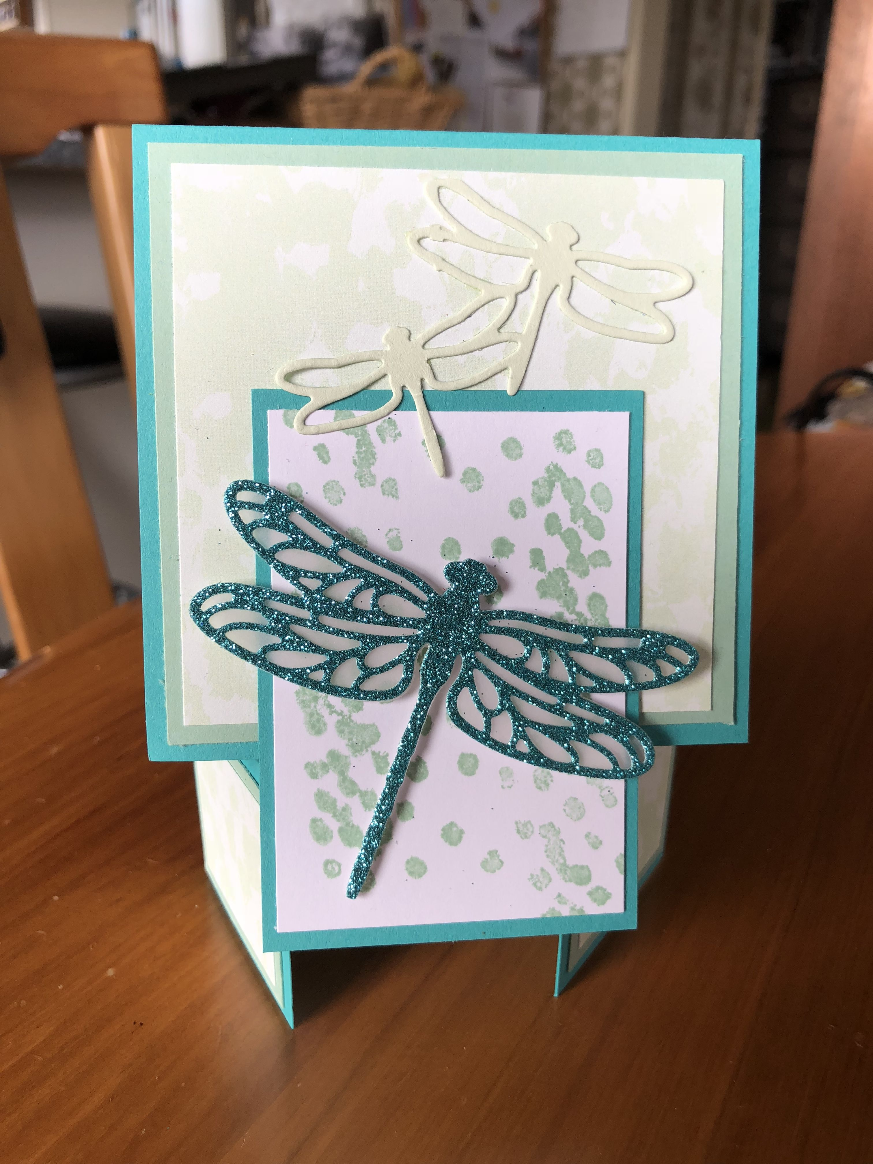 Michelle g birthday stampin up dragonfly dreams pinterest