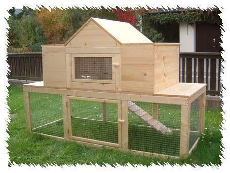 modell kleintier villa f r hasen meerschweinchen co komfort hasenstall meerschweinchen. Black Bedroom Furniture Sets. Home Design Ideas