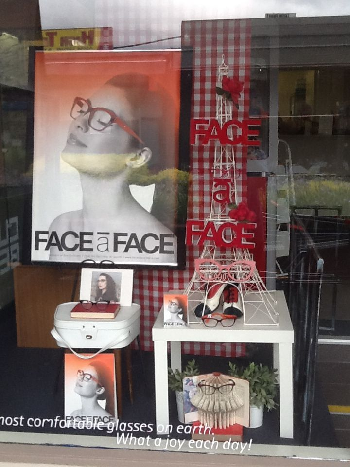59d73d25733 Face a face eyewear display in Melbourne