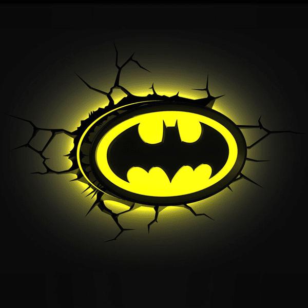Dc Comics Batman Signal 3d Light Zing Pop Culture Batman Decor Batman Room Batman Themed Bedroom
