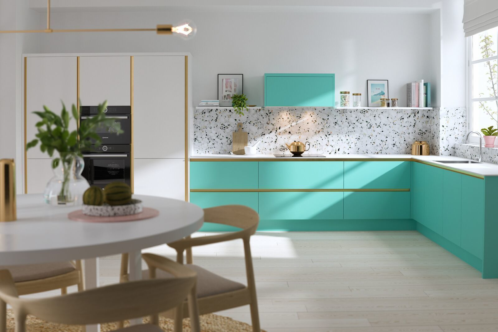 wren kitchens unveil gorgeous new pastel collection kitchen design l shaped kitchen designs on l kitchen id=67719