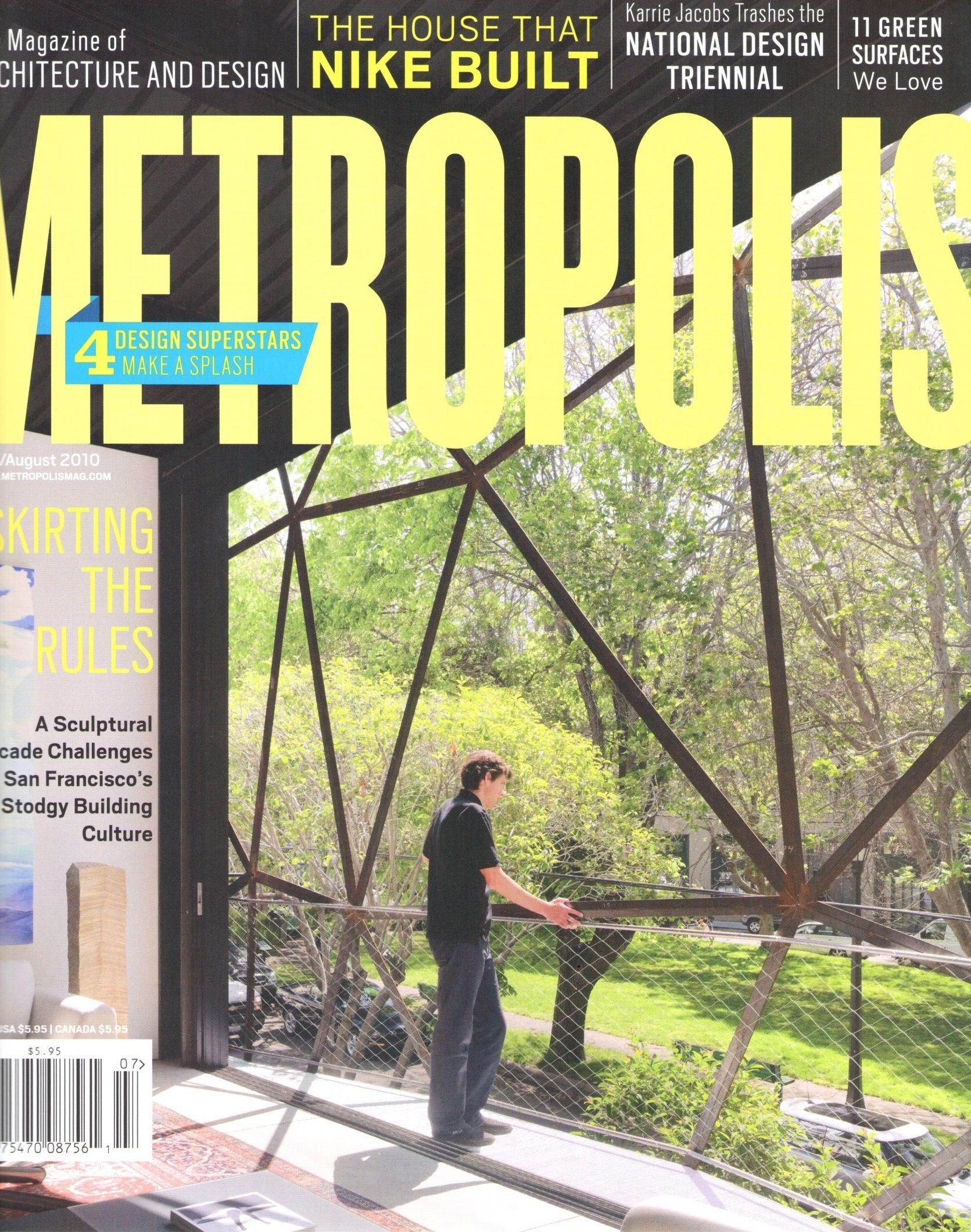 Metropolis #Magazine #JAM #jeffreyalanmarks #Design | JAM
