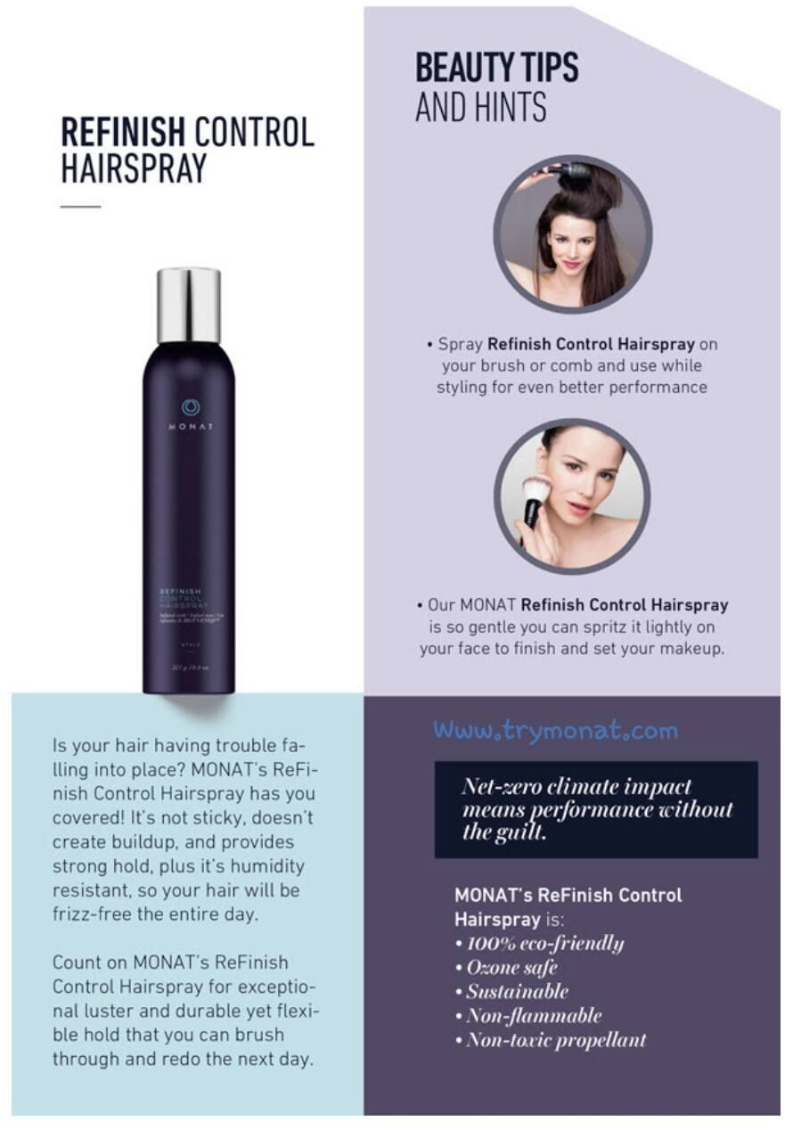 Hairspray From Monat 100 Eco Friendly Contact Me Today To Get