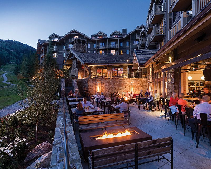 Four Seasons Resort Residences Jackson Hole Presents A Photo Collection Of This Luxury Ski Surrounded By The Famed Grand Teton Mountain Range