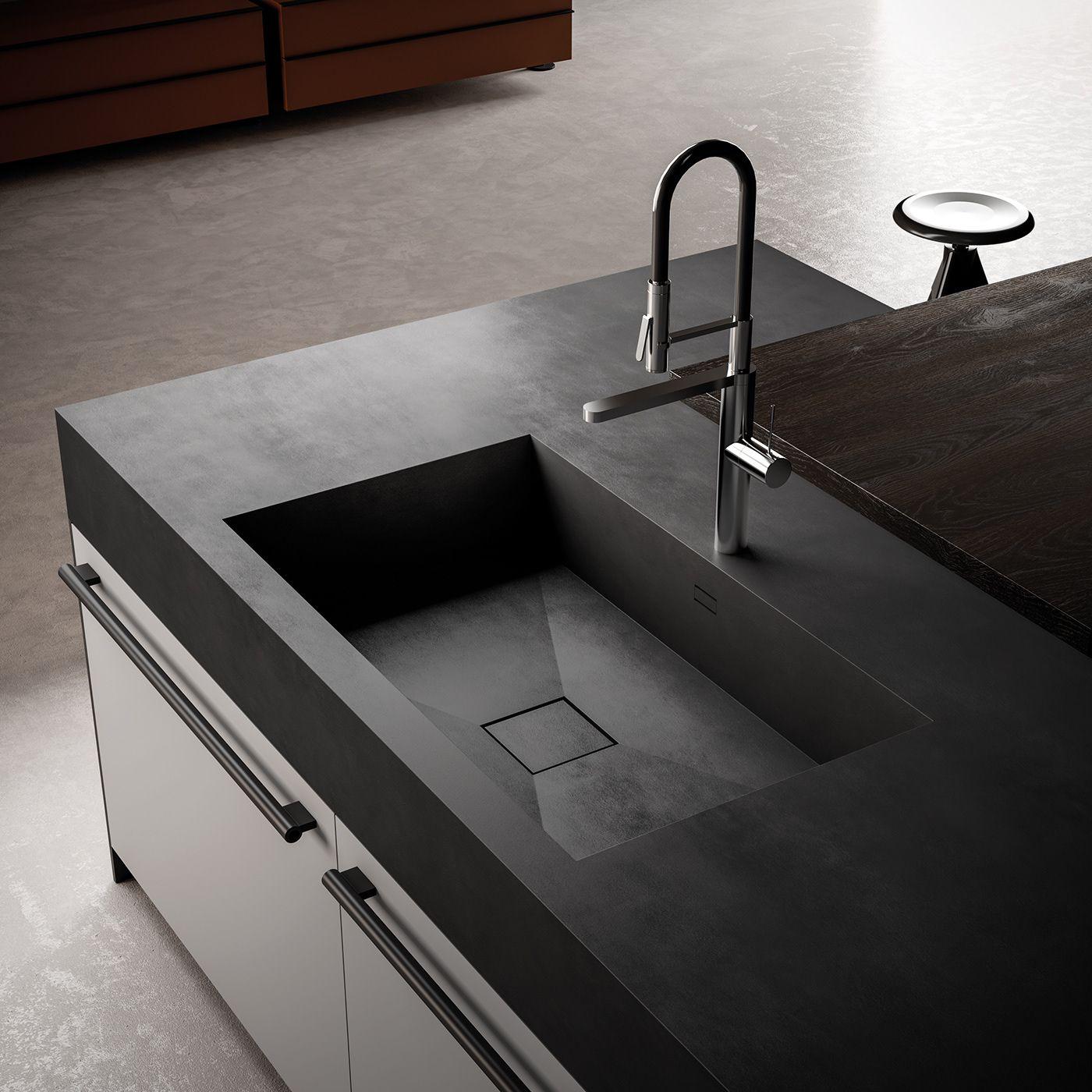 Effeti kitchen 2018 on behance bespoke kitchen design