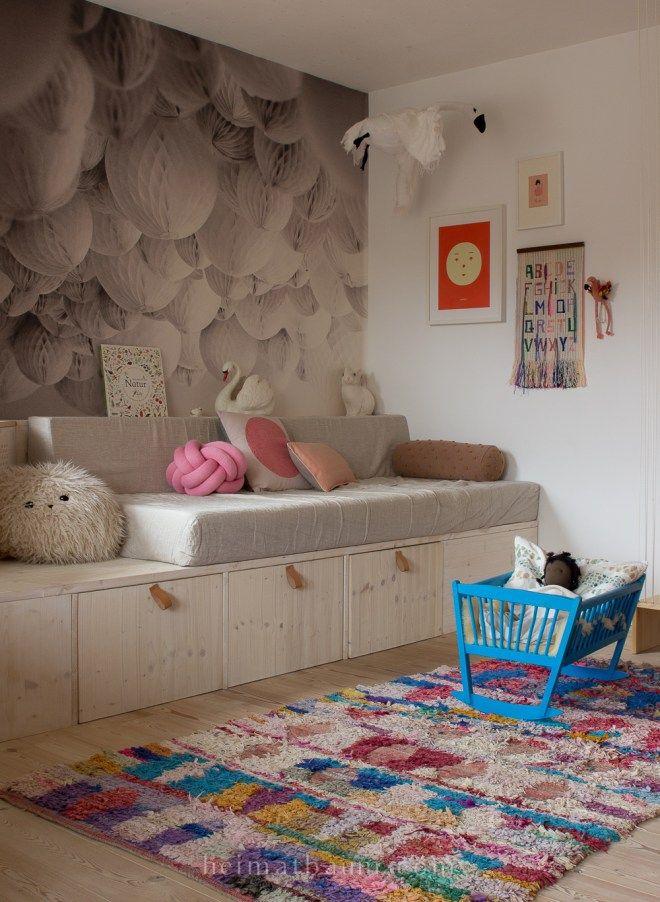 Ein sicheres Hochbett mit Stauraum {DIY} - HEIMATBAUM