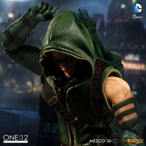 One:12 Collectif DC UNIVERSE GREEN ARROW Action Figure Mezco Toyz AUTHENTIC New