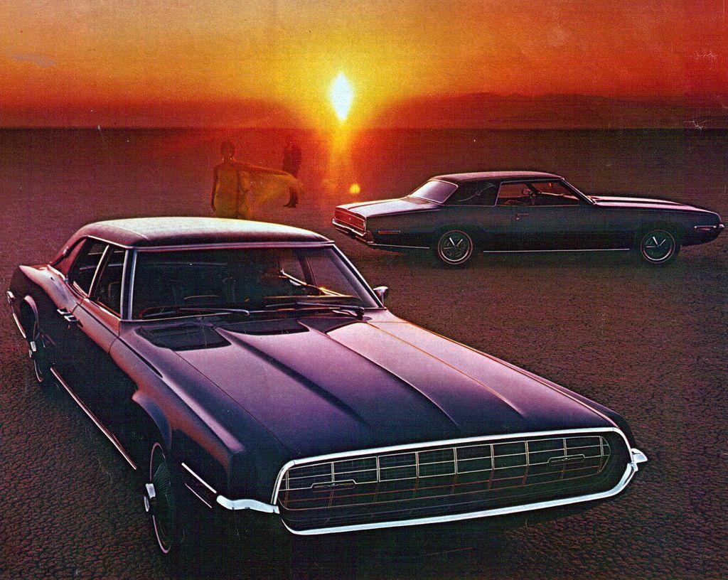 1968 Ford Thunderbird Landau 4 Door And 2 Door Hardtop Ford