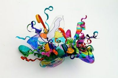 chihuly inspired craft