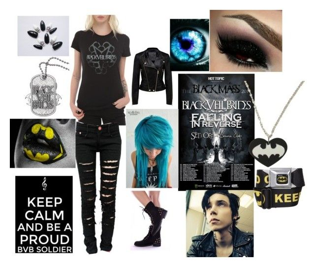 Black Veil Brides IV Concert on Dec. 12th by blade-trista18 on Polyvore featuring art
