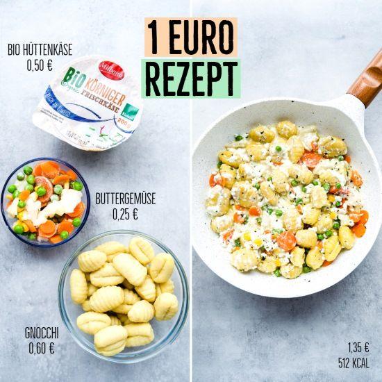 3 Rezepte für 1€ #schnellerezeptemittagessen
