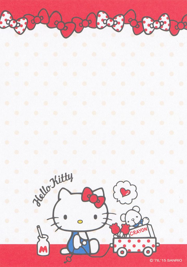 Sanrio Hello Kitty Memo (2015)   Hello Kitty & Sanrio   Pinterest ...