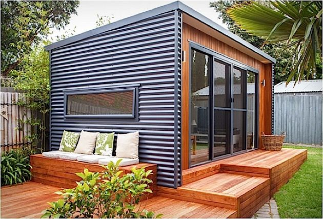 Architektur Hol dir das Büro in den Garten KlonBlog