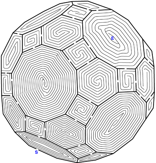 image regarding Difficult Mazes Printable titled An additional difficult maze! A Terrific situation - even for the more mature