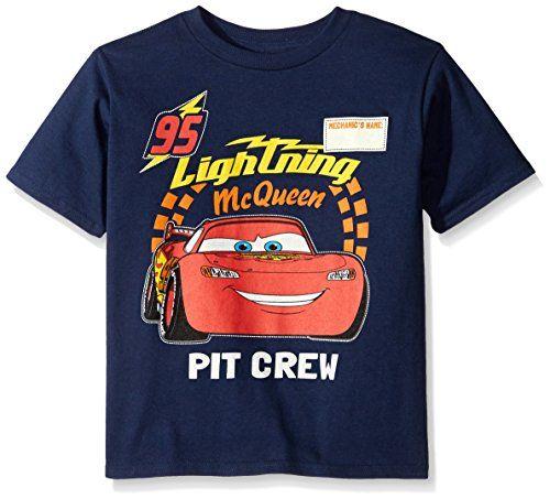 Disney Cars Boys Short Sleeve T-Shirt Lightning Mcqueen