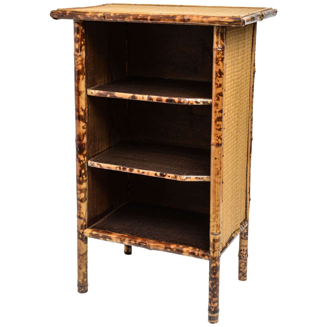 etagere bali by pin palm springs small bookcase the rattan for open bookcases
