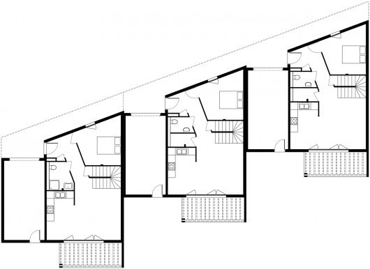 3 Social Houses Zoomfactor Architectes JB Poulain – Social Housing Plans