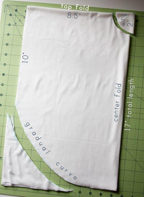 Como hacer una blusa en circulo fácilmente