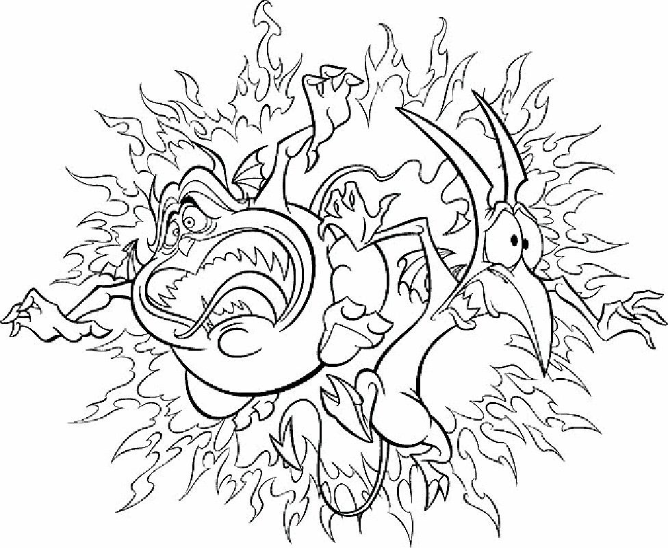 Pain & Panic | Coloring pages | Pinterest